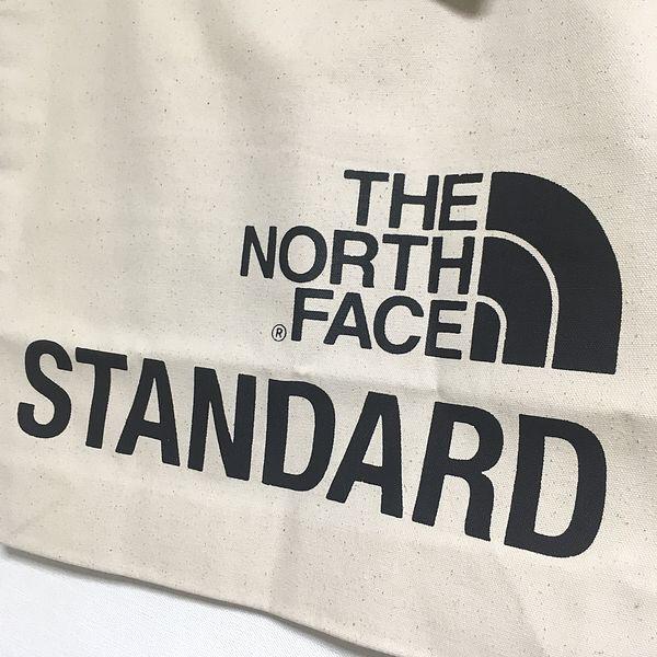 【新品】送料164円~ 黒 トートバッグ The North Face STANDARD スタンダード 限定 Tote Bag オーガニックコットントート_画像2