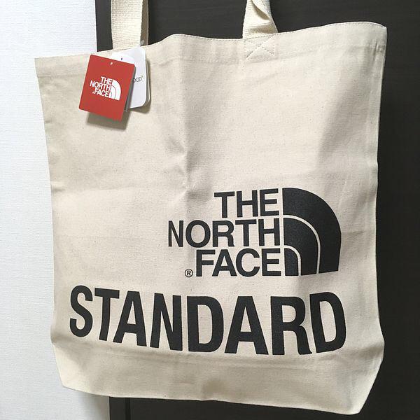 【新品】送料164円~ 黒 トートバッグ The North Face STANDARD スタンダード 限定 Tote Bag オーガニックコットントート_画像1