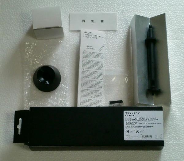 【ジャンク】Wacom Intuos4以降/Cintiq用オプション クラシックペン KP-300E-01X