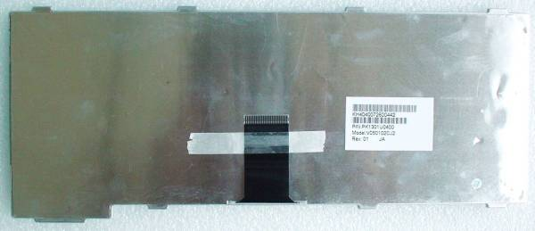 ☆NEC Lavie LL550/700シリーズ等用日本語キーボード(V050102CJ2)白_画像2