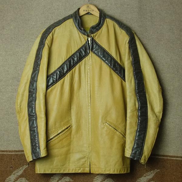 上下セット/BATES ベイツ/70s ライダース ジャケット パンツ★ビンテージ レーシング レザー ハーレー BUCO BECK 好きに USA古着 50s60s80s_画像2