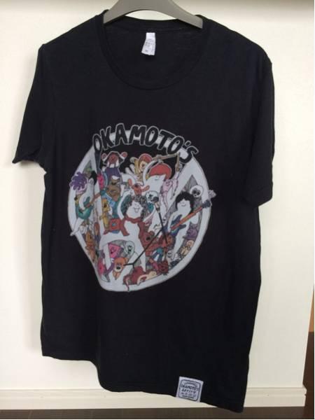 オカモトズ OKAMOTOS LET IT V ライブTシャツ Mサイズ ウンボコマンボコ 2014年 ブラック 黒