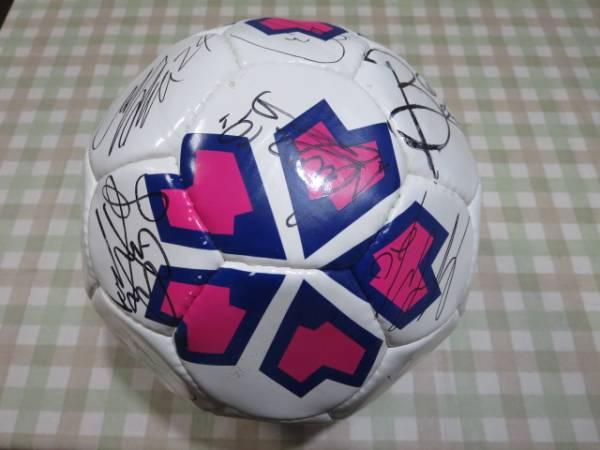 ☆ セレッソ大阪 2010年記念ボール 本物サイン入り ☆ グッズの画像