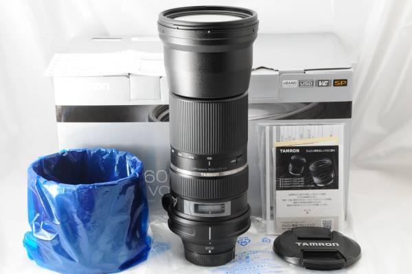 ★未使用品級★TAMRON タムロン SP 150 600mm F5 6.3 Di VC USD (Model A011) NIKON ニコン用 AF