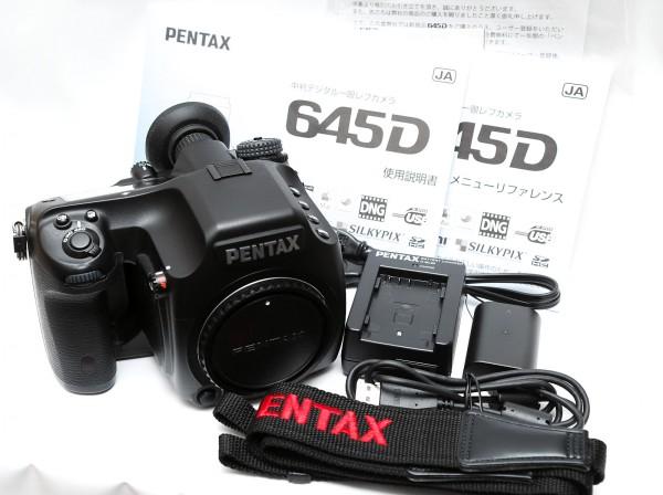 PENTAX ペンタックス 645D ボディ付属品一式 【中古】