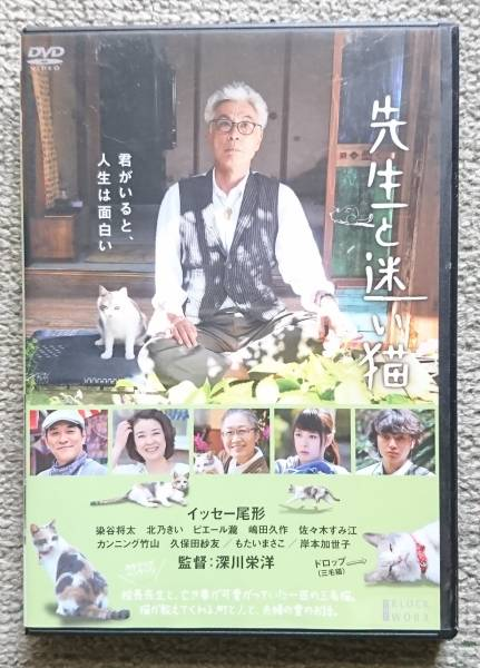 【レンタル版DVD】先生と迷い猫 イッセー尾形 染谷将太 北乃きい グッズの画像