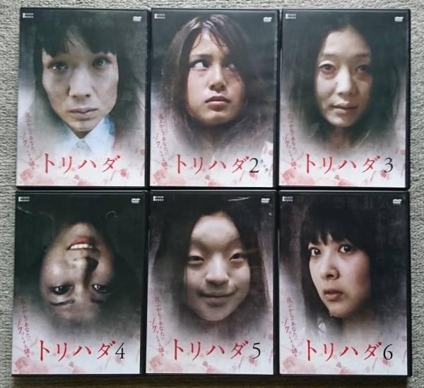 【レンタル版DVD】トリハダ 全6巻 谷村美月 グッズの画像