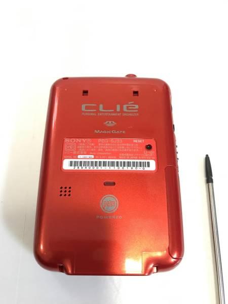 SONY CLIE PEG-SJ33 オレンジ 動作確認済み 極美品_画像3