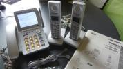 パナソニック コードレス電話機 親機/VE-GP62 DW(子機2台)