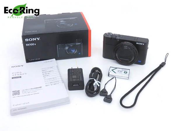 1円 未使用 ソニー デジタルスチルカメラ DSC-RX100M5 サイバーショット RX100V HD477