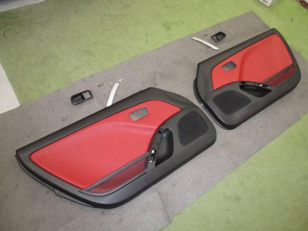 L880Kコペン ドア内張り左右セット(赤レザー調)