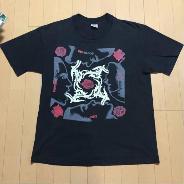 90s RED HOT CHILI PEPPERS レッチリ Tシャツ ヴィンテージ 古着 バンドTシャツ rage against sublime nilvana ニルバーナ メタリカ ライブグッズの画像
