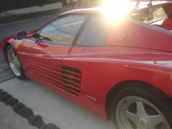 Ferrariテスタロッサ 後期型 低走行 ロッソコルサ_画像3