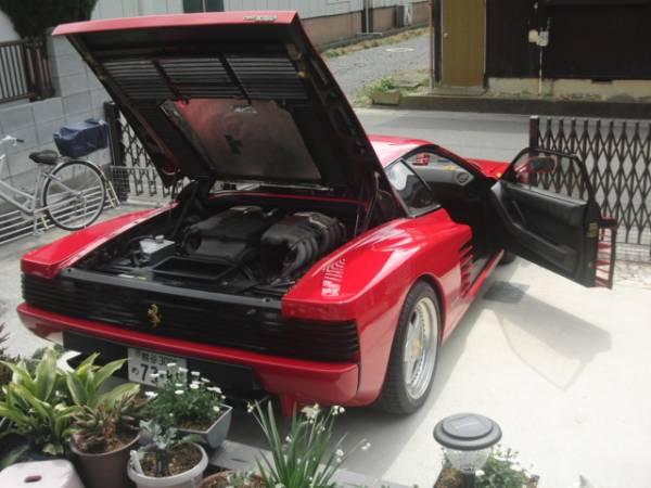 Ferrariテスタロッサ 後期型 低走行 ロッソコルサ_画像10