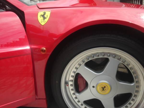 Ferrariテスタロッサ 後期型 低走行 ロッソコルサ_画像6