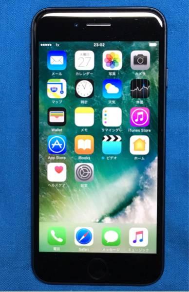送料無料★美品!au iPhone 7 32GB ブラック SIMフリー化 Apple Care+ 2019年5月13日まで!おまけつき♪
