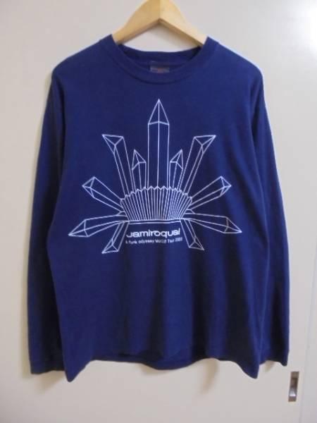 Jamiroquai ジャミロクワイ 2002 ツアー 長袖 Tシャツ/SHOOT