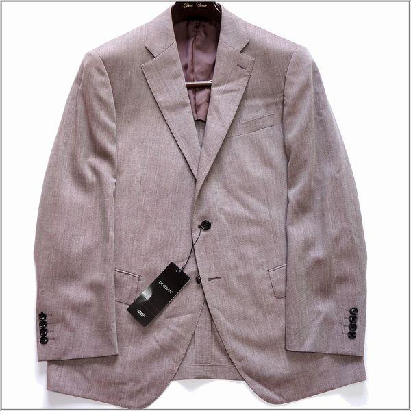 新品 D'URBAN ダーバン 春夏清涼 日本製 毛×シルク×麻混合 MONSOONテーラードジャケット 2L 定価92880円