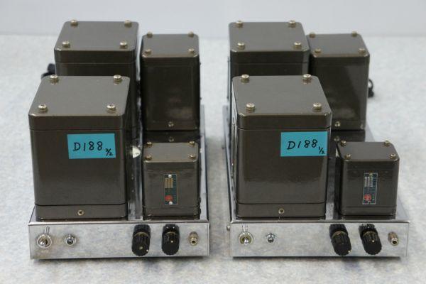 D1881212】 ONLIFE 真空管モノラルパワーアンプ UM-10MKⅡ 2台...