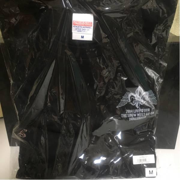 dragonash Tシャツ The Show Must Go On DA CREW限定 ライブグッズの画像