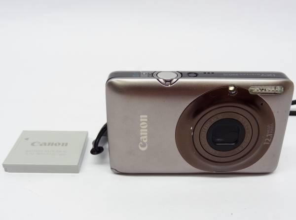 キャノン デジタルカメラ イクシィデジタル220ISI 1210万画素/光学ズーム4倍/2.7型クリアライブ液晶 Canon IXY DIGITAL220IS-BW ブラウン