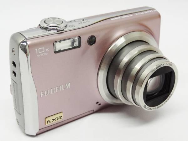 富士フイルム コンパクトデジタルカメラ ファインピックス 1200万画素 光学10倍ズーム FUJIFILM FinePix F80EXR ピンク