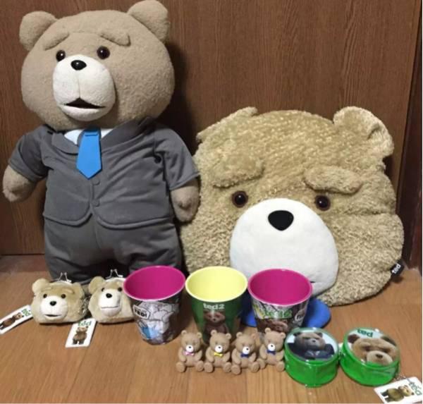 Ted テッド ぬいぐるみ クッション コップ 等 まとめ売り グッズの画像
