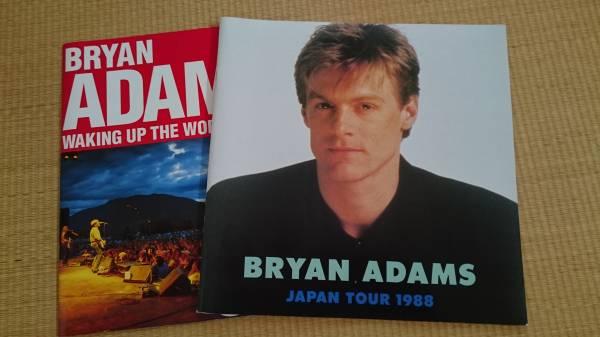 BRYAN ADAMS ライブ パンフレット