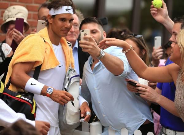 ラファエル・ナダル 2L判写真1枚 テニス ⑩
