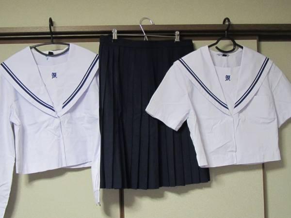 和歌山県立 北高校 (旧型) 夏・中間女子制服セット サイズ160B