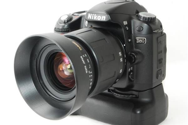 Nikon D80 使用感極少 元箱 バッテリーグリップ MB-D80 付き レンズセット 動作良好 初期不良返品OK