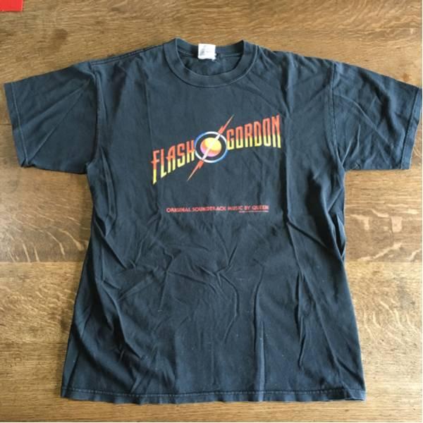 レア 00's QUEEN FLASH GORDON Tシャツ Lサイズ USA製 ヴィンテージ クイーン アメコミ 映画 サントラ バンド ロック