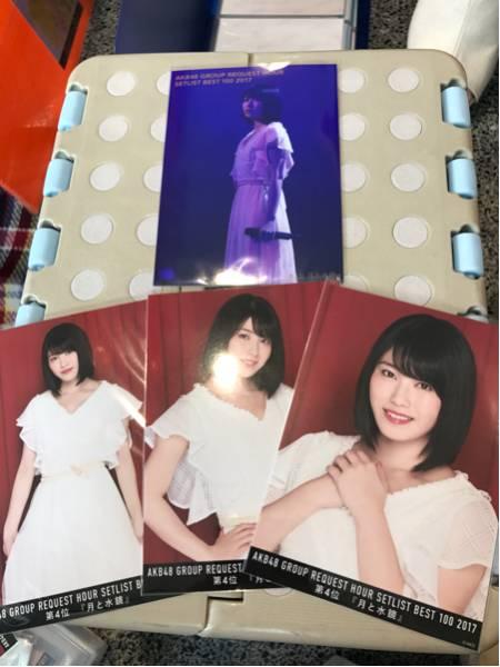AKB48 横山由依 AKB48 グループ リクエストアワー2017 DVD BD 生写真 予約特典 封入 4種コンプ