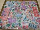 日本普通切手使用済大量1000枚以上(菊田沢昭和産業位迄)