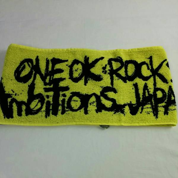 ONE OK ROCK タオル 2017 Ambitions JAPAN TOUR MY FIRST STORY ワンオク 1918