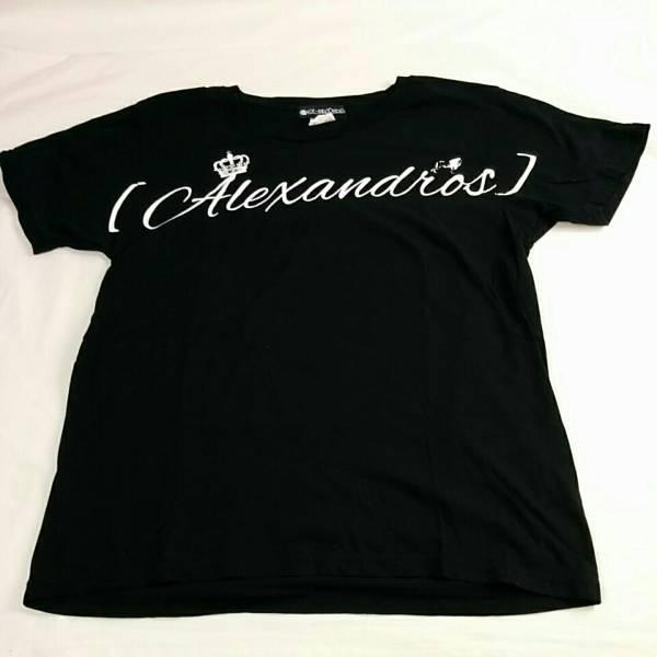 RX-RECORDS アレキサンドロス Alexandros 半袖 Tシャツ(M) 黒 1958