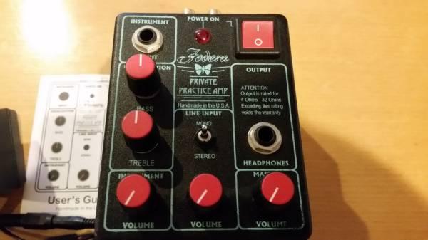 Fodera Private Practice Amp 【ヘッドフォンアンプ】