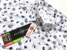 新品◆ゼクシオ XXIO マリンデザイン 吸水速乾 半袖ポロシャツ/日本製/サイズL/送料164円