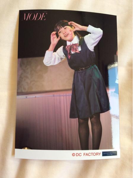 ハロプロ研修生 清野桃々姫 舞台風景生写真 演劇女子部 舞台 MODE 限定