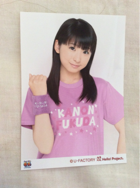 スマイレージ 福田花音 生写真 ソロTシャツ特典1