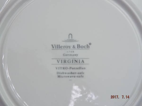 ヴィレロイ&ボッホ バージニア クリームスープ ソーサー_画像3