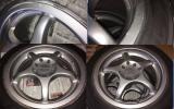 トミーカイラ Tommy Kaira m13 K11 マーチ ホイール 185/55R15 195/50R15 6.5j +40 PCD:100/114.3 Yokohama S-drive