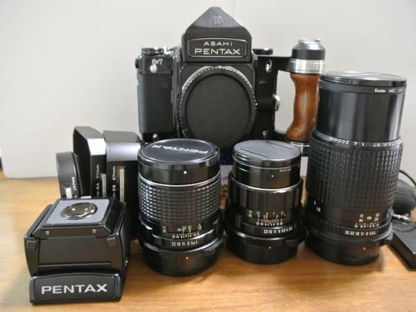 ASAHI PENTAX6X7とレンズ3本セットとおまけ ペンタックス67(その2)