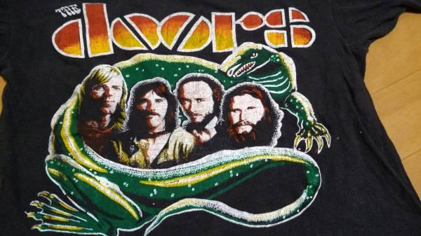 ビンテージ THE DOORS パキ綿 Tシャツ ドアーズ 80年代 ジムモリスン