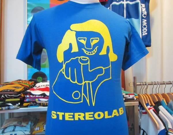 ステレオラブ スイッチト・オン オフィシャル Tシャツ STEREOLAB ライトブルー 未使用