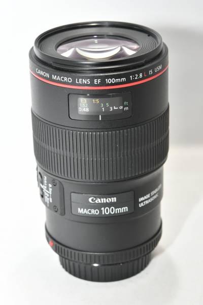 ★美品★Canon EF100mm F2.8Lマクロ IS USM MACRO キヤノン 即決