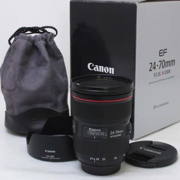 ★新品級! Canon EF24-70mm F2.8L II USM ★品質保証付(12789)