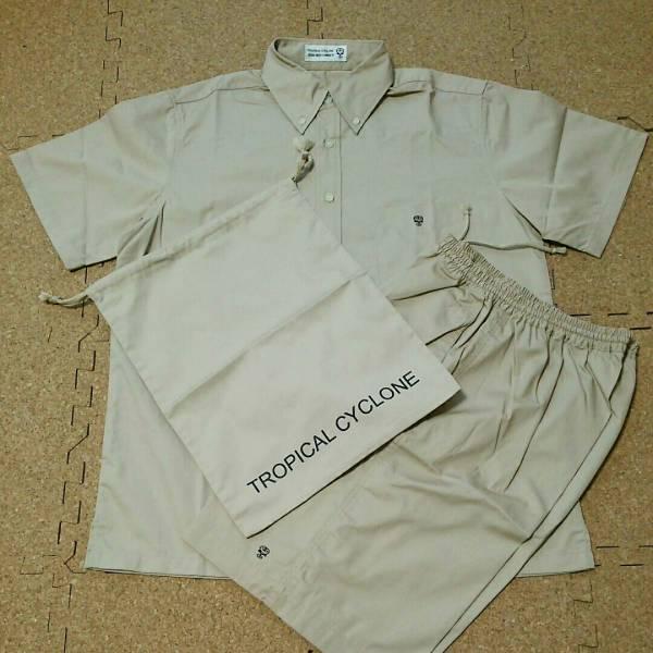未使用 藤井フミヤ TROPICAL CYCLONE 2000サマーツアー リゾートウェア セットアップ 半袖シャツ 上下