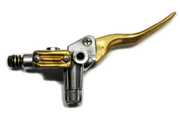 ドラッグスター400ドラスタ400DS400真鍮製ブレーキマスター1インチ用アルミ鋳造PMパフォーマンスマシーン ローランドサンズ カスタムテック_画像2