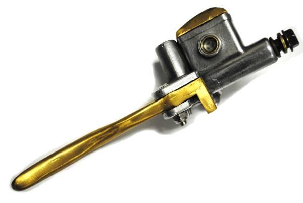 ドラッグスター400ドラスタ400DS400真鍮製ブレーキマスター1インチ用アルミ鋳造PMパフォーマンスマシーン ローランドサンズ カスタムテック_画像3